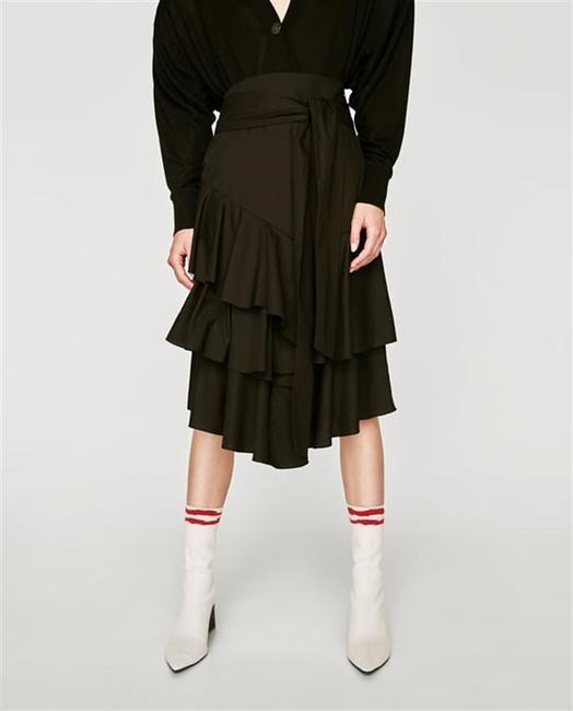 Zara Skirt Black Image 5