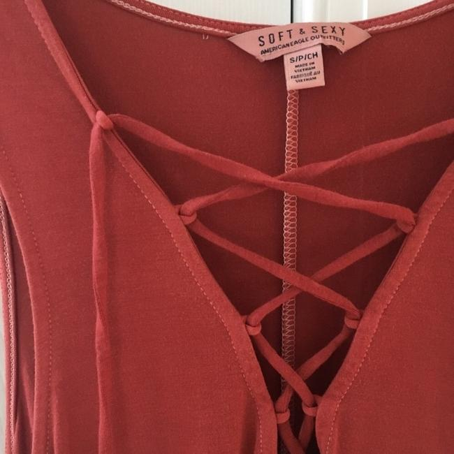 American Eagle Outfitters Top red Image 3