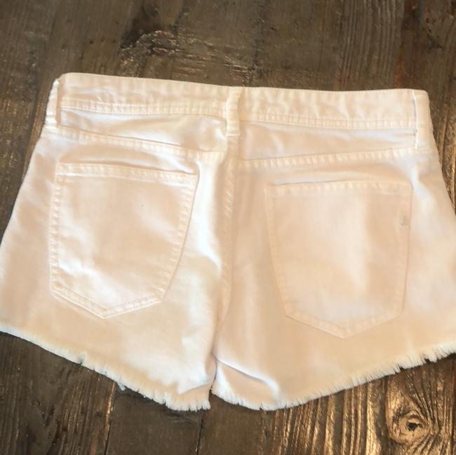 Genetic Denim Cut Off Shorts white