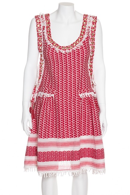 Preload https://img-static.tradesy.com/item/23693162/dodo-bar-or-red-and-white-fatima-large-short-casual-dress-size-14-l-0-0-650-650.jpg