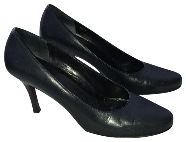 Amalfi Navy Florence Brandy Pumps Size US 9.5 Regular (M, B) Amalfi Navy Florence Brandy Pumps Size US 9.5 Regular (M, B) Image 1