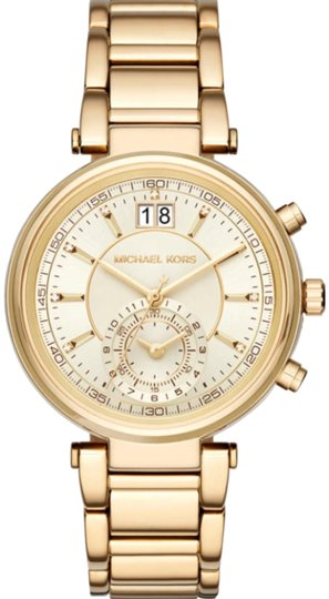 Preload https://img-static.tradesy.com/item/23693247/michael-kors-gold-sawyer-watch-0-3-540-540.jpg