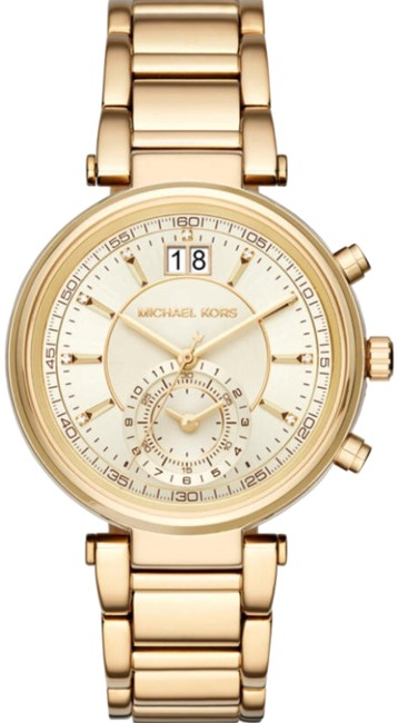 Michael Kors Gold Sawyer Watch Michael Kors Gold Sawyer Watch Image 1