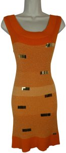 Apple Bottoms short dress orange on Tradesy