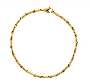 Chimento Chimento 18k pink gold bracelet 7 inches long new with tag