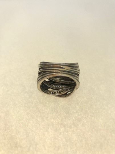 UNKNOWN UNISEX STERLING SILVER RING SIZE 9