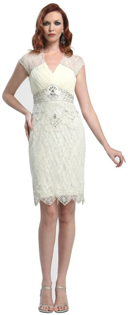 Preload https://img-static.tradesy.com/item/23693509/sue-wong-white-ivory-lace-beaded-chiffon-prom-party-mid-length-cocktail-dress-size-10-m-0-1-650-650.jpg