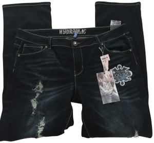 Hydraulic Lola Embroidery Boot Cut Jeans