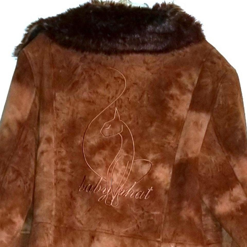 08370c1e49c1 Baby Phat Brown Suede Full Length Coat Size 12 (L) - Tradesy
