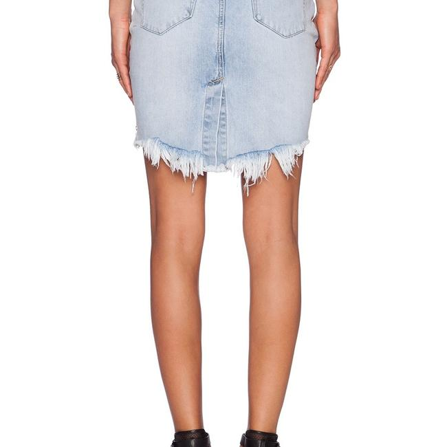 One Teaspoon Skirt denim