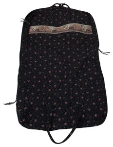 Vera Bradley black brown tan Travel Bag