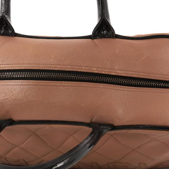 Chanel Leather Satchel in mauve