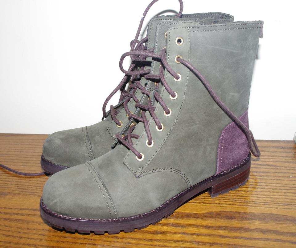 2c0a04d3bd3 UGG Australia Green/Brown Kilmer Military Lace Up Ankle Slate Boots/Booties  Size US 9 Regular (M, B)