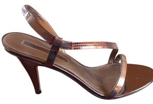 Bandolino gold/bronze Sandals