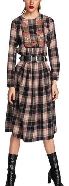 Preload https://img-static.tradesy.com/item/23694020/zara-multi-color-checks-embroidered-with-long-sleeve-new-mid-length-short-casual-dress-size-2-xs-0-1-650-650.jpg