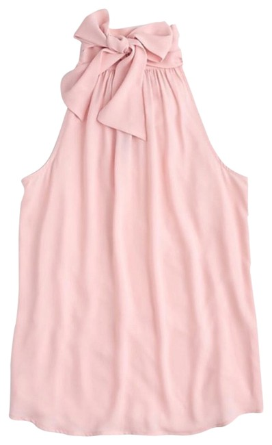 Preload https://img-static.tradesy.com/item/23694053/jcrew-pink-reversible-neck-tie-blouse-size-8-m-0-1-650-650.jpg