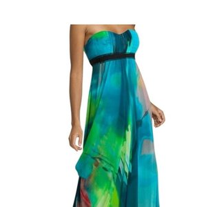 green Maxi Dress by BCBGMAXAZRIA