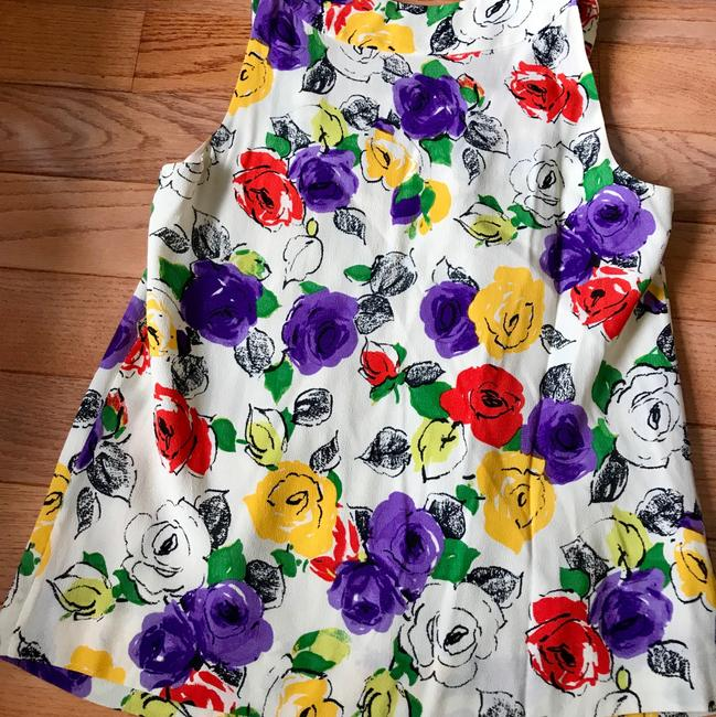 Kate Spade Top off white floral