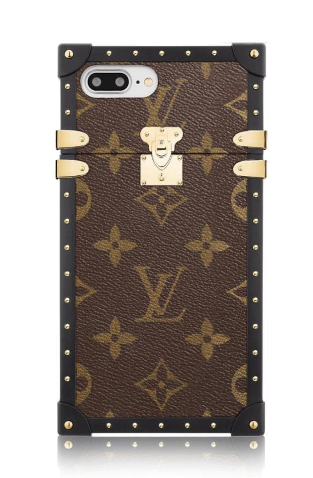 factory authentic 4fcb5 bee62 Louis Vuitton Brown Box New In Eye-trunk For Iphone 7 Plus 7+ 6+ Case Tech  Accessory 38% off retail