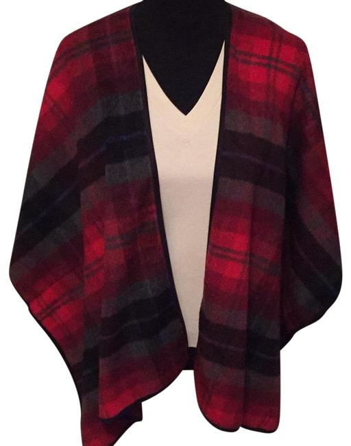 Preload https://img-static.tradesy.com/item/23694360/old-navy-red-gray-black-blue-plaid-ponchocape-size-2-xs-0-1-650-650.jpg