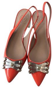 Tory Burch orang red Pumps