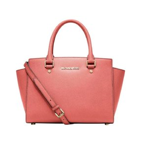 Michael Kors Satchel in Grapefruit Pink Coral