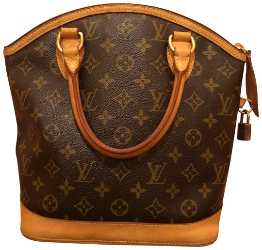 Preload https://img-static.tradesy.com/item/23694498/louis-vuitton-lockit-pm-brown-canvas-with-leather-trim-satchel-0-1-540-540.jpg