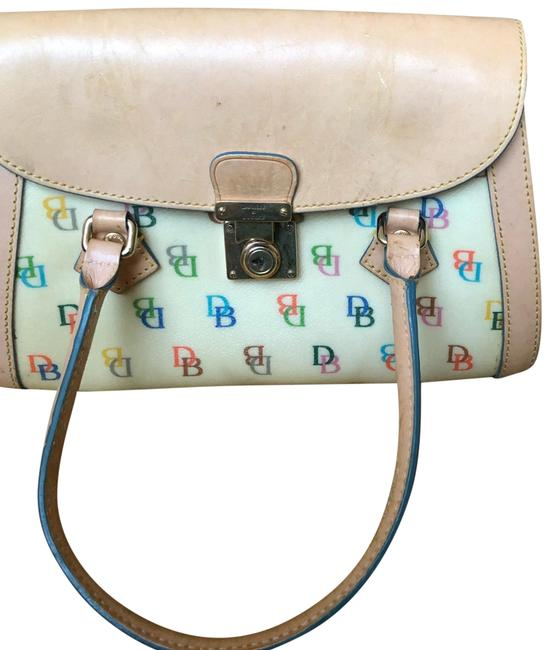 Item - Hand Beige Leather and Custom Baguette