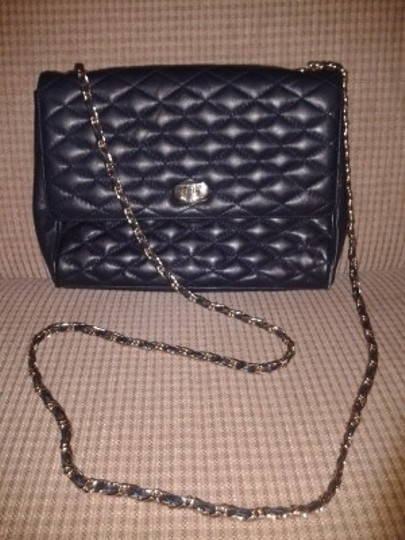 Preload https://img-static.tradesy.com/item/23695/talbots-quilted-dark-blue-leather-cross-body-bag-0-0-540-540.jpg