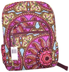 Vera Bradley Campus Resort Medallion Multicolor Backpack