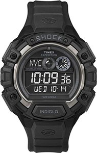 Timex Timex Male Expedition Watch T49970 Black Digital