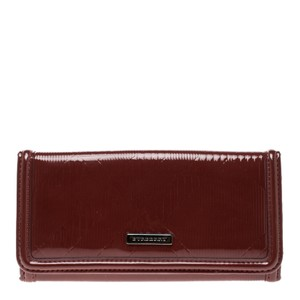 Burberry Patent Leather Baguette