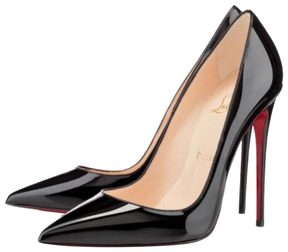 abe52c5103b Christian Louboutin Black So Kate Patent Classic Stiletto Pumps Size ...