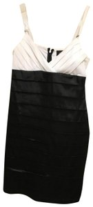 Scarlett Nite short dress Black and white on Tradesy