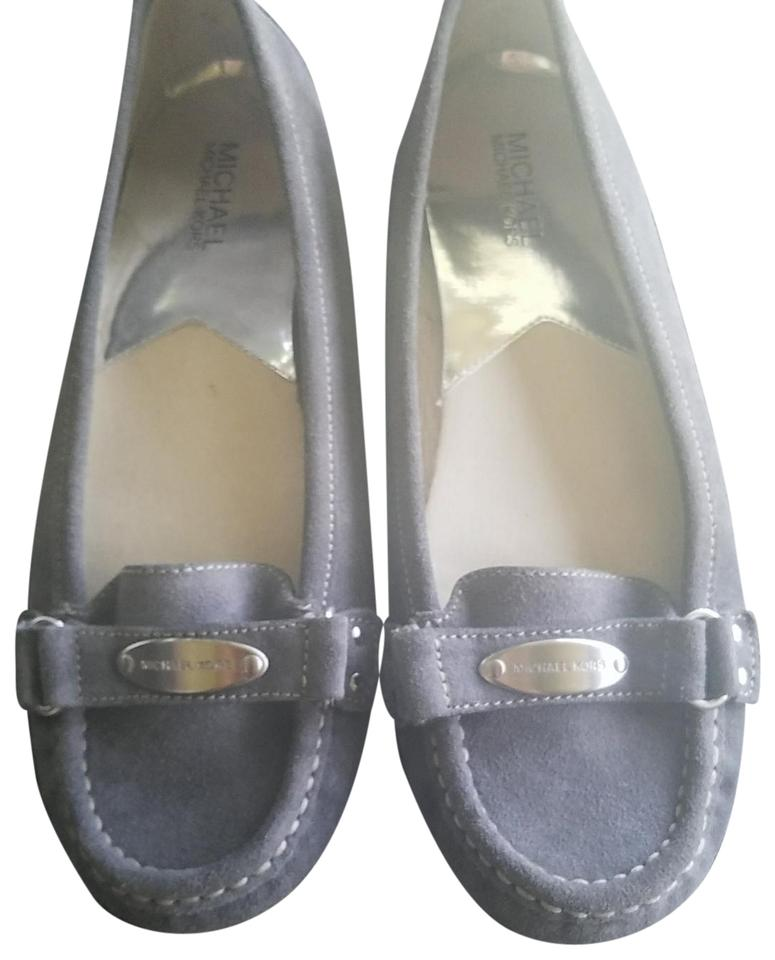 1414d234b69 Michael Kors Grey Suede Olive Loafers Flats. Size  US 9.5 Regular (M ...