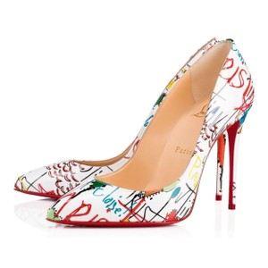 Christian Louboutin White White Pumps