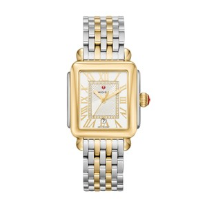 Michele Deco Madison Ladies Two Tone Watch mww06t000147