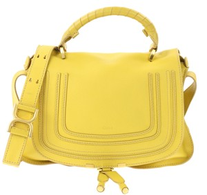 Chloé Marcie Marcie Medium Marcie Satchel in Yellow