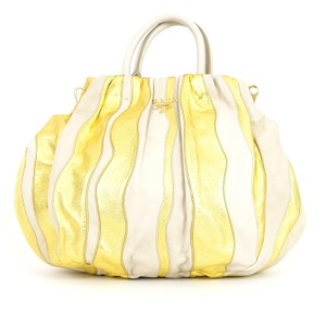 Prada Stripe Striped Stripes Hobo Bag