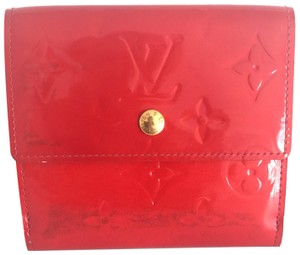 Louis Vuitton Louis Vuitton Elise Monogram Vernis Leather Wallet
