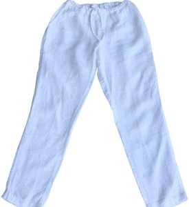 CP Shades Straight Pants White