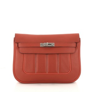 Hermès Handbag Berline Leather Cross Body Bag