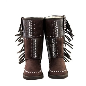 Montana West Brown Coffee Boots
