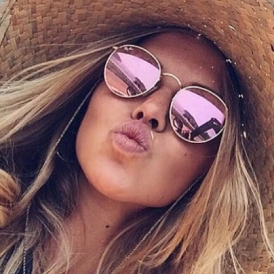 9d51c3b0af Ray-Ban Pink Round Copper Flash Rb3447 112 Z2 Sunglasses - Tradesy