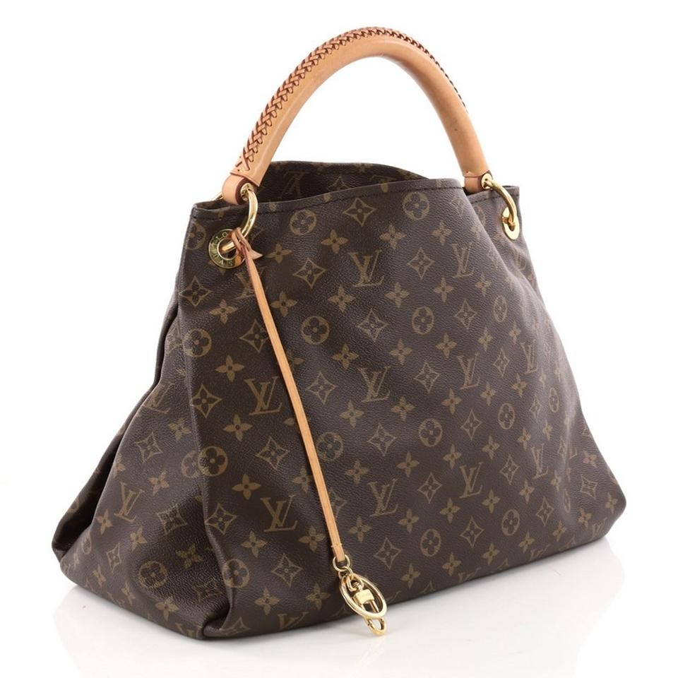 bd495a78bd56 Louis Vuitton Artsy Handbag Monogram Mm Brown Canvas Hobo Bag - Tradesy