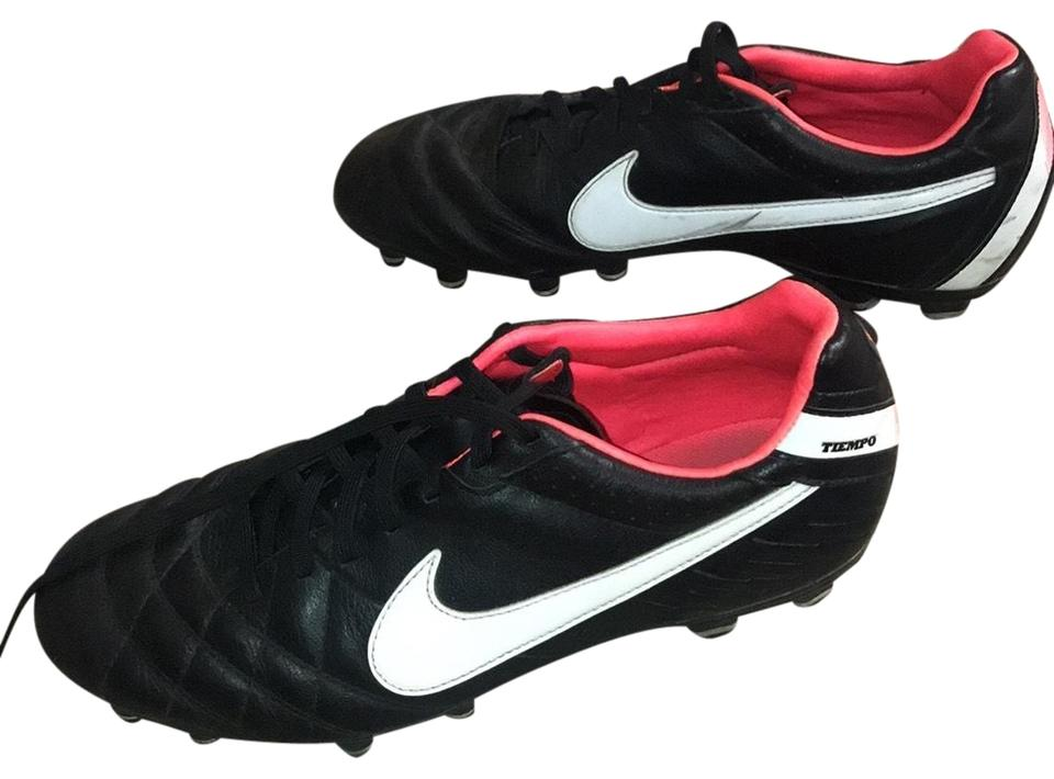 06756c68c5a Nike Black White Hot Pink Inside Soccer Cleats Sneakers Size US 6.5 ...