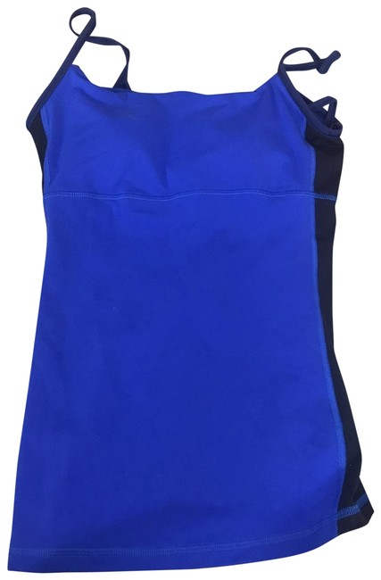 Item - Blue and Navy Activewear Top Size 6 (S)