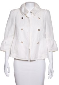 Carolina Herrera White Jacket