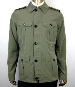 Gucci Army Green Soft Popeline Poly Caban/Peacoat It 52r/Us 42r 387438 3257 Groomsman Gift