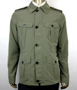 Gucci Army Green Soft Popeline Poly Caban/Peacoat It 60r/Us 50r 387438 3257 Groomsman Gift